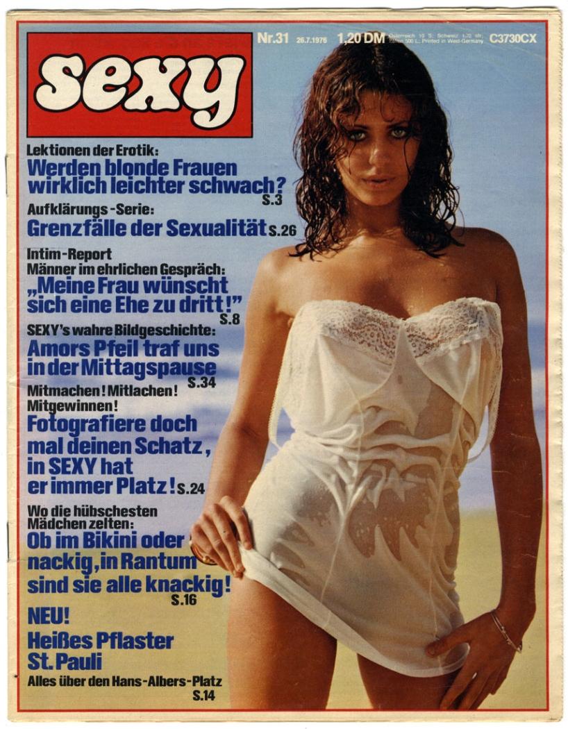 sexy, 1976, Nr 31; Männermagazin, Zeitschrift