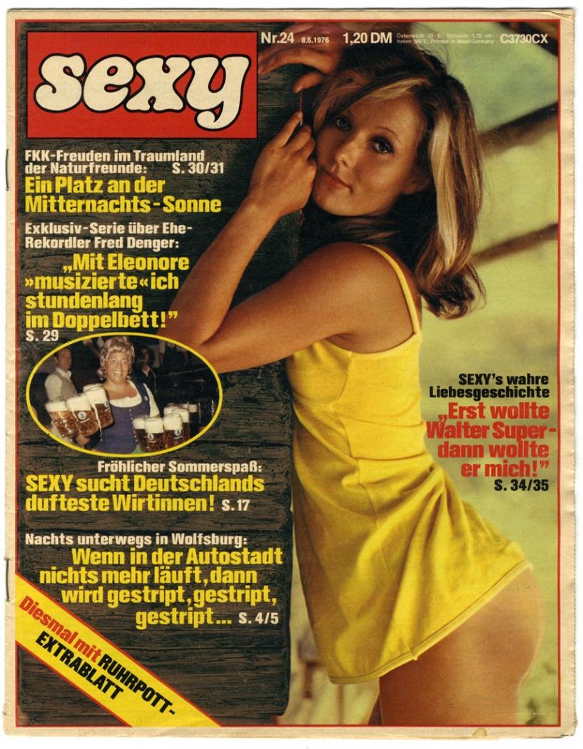 sexy, 1976, Nr 24; Männermagazin, Zeitschrift
